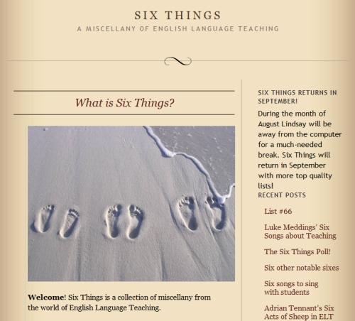 Er_blog_sixthings