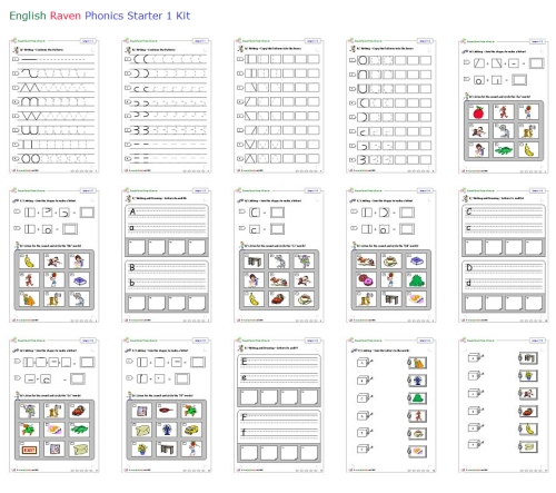 Learning Twigs: Free beginner level phonics kit resources ...