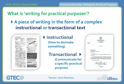 Vcal writing for practical purposes screenshot2