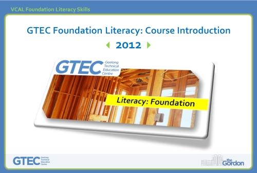 GTEC Foundation Lit Intro front slide