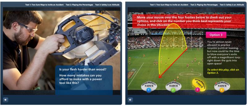 E-Learning Design Matters - Scenery Sound Self Awareness Scenarios