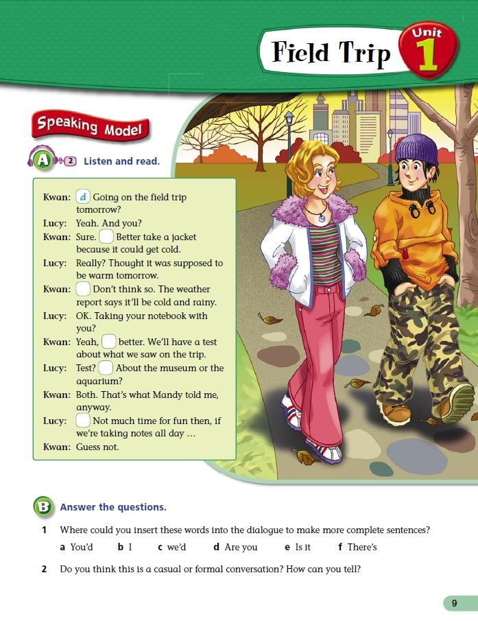 situation dialogue examples
